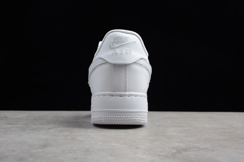 New This Year Nike Air Force 1 Velcro Swoosh Pack White AH8462-102 Running  Shoes ... 327312f2b