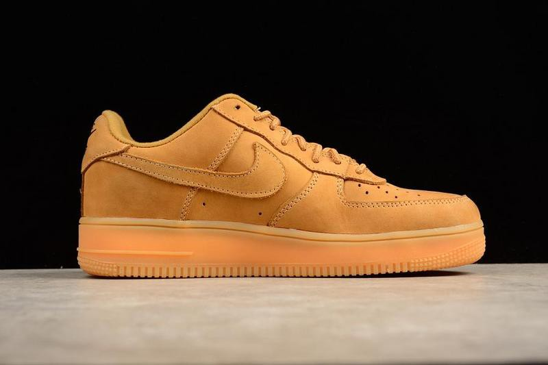 designer fashion 94ca8 3137b Nike Air Force 1 Low Flax/Flax Skateboarding Shoes 888853-200  Wear-resistant Breathable Sneakers