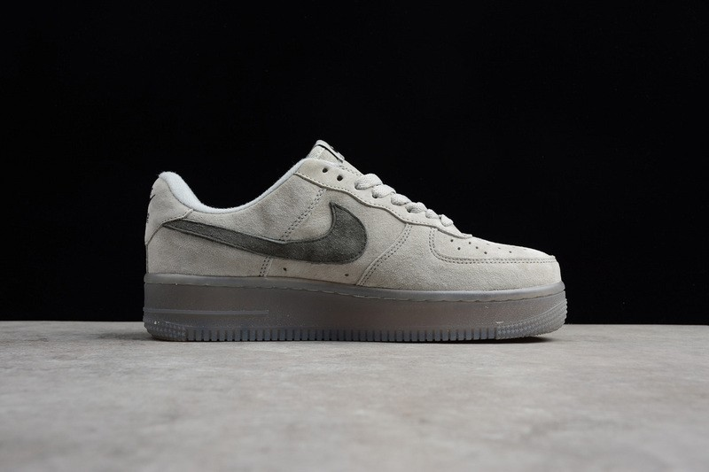 Nike Air Force 1 Low Gray Dark Grey Comfortable Athletic Sneakers ... 8ae2aebd5d15