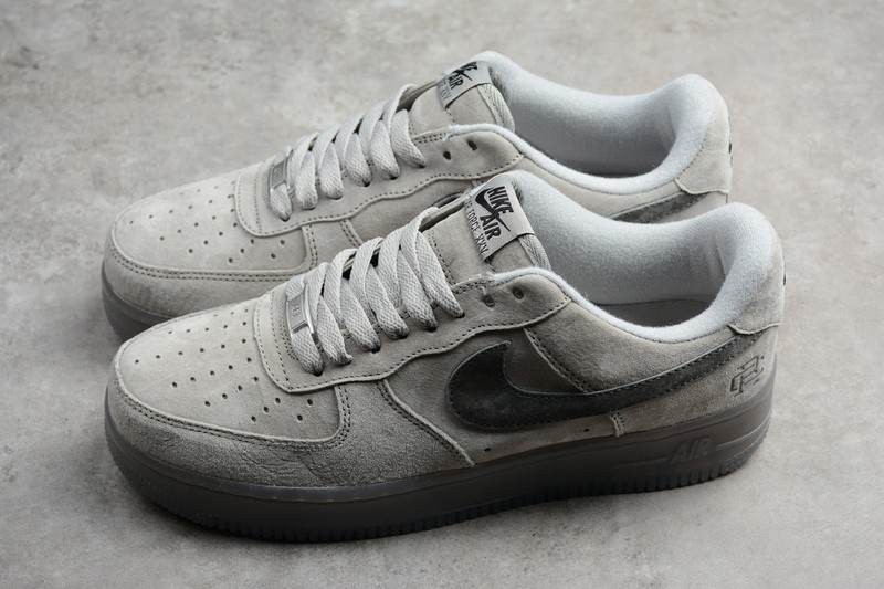 dc395f0caec7c Nike Air Force 1 Low Gray Dark Grey Comfortable Athletic Sneakers AA1117-118  ...