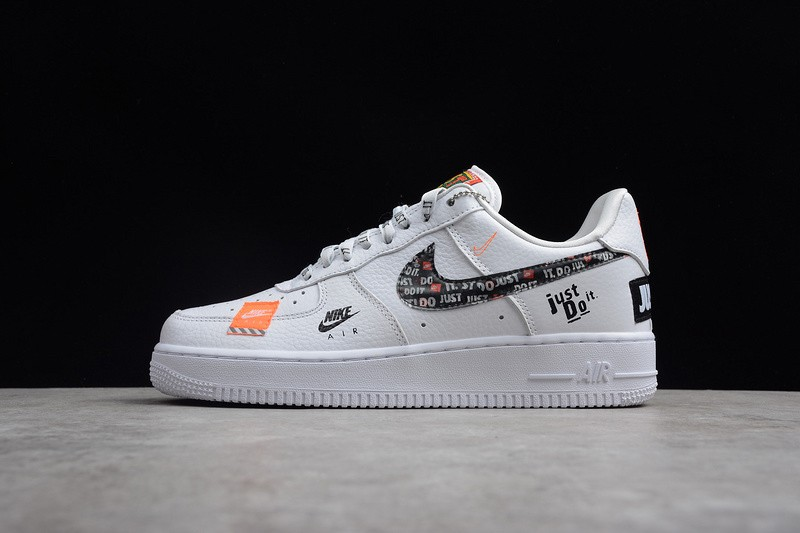 air force 1 just do it noire