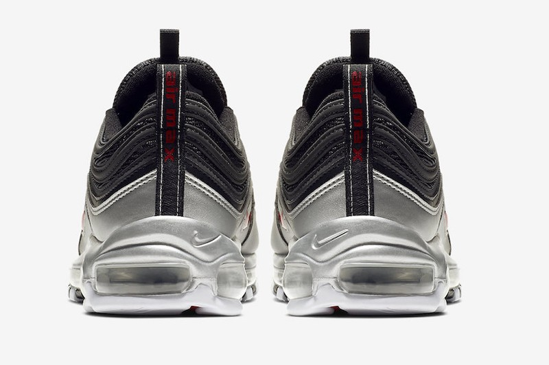 new concept 43906 9f5fe Nike Air Max 97 QS AT5458-001 Black Varsity Red-Metallic Silver ...