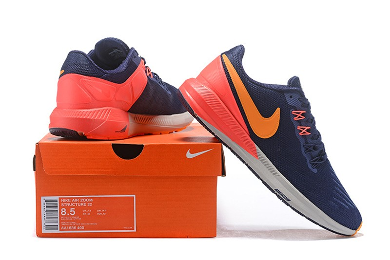 nike structure 22 blue