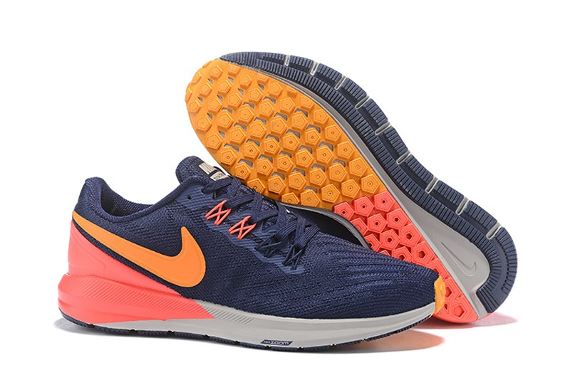 nike air zoom structure blue