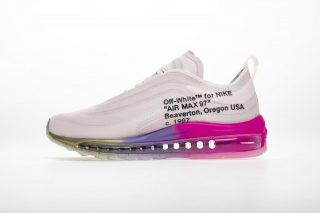 7720c0a17ab Off-White x Nike Wmns Air Max 97 Elemental Rose/Barely Rose-White-Black  AJ4585-600 Sneakers