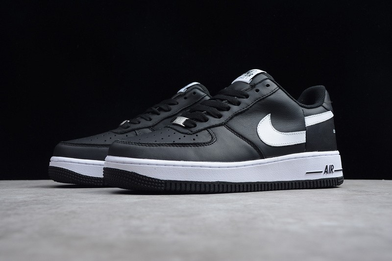 best service 48b82 313a6 Supreme x CdG SHIRT x Nike Air Force 1 Black/White Breathable Lightweight  Sneakers AR7623-001