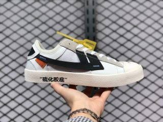 The Remade x K.Yee OFF-WHITE White Black Skate Shoes