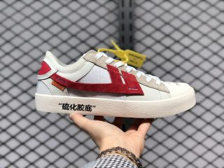 The Remade x K.Yee OFF-WHITE White Red Shoes Outlet Online