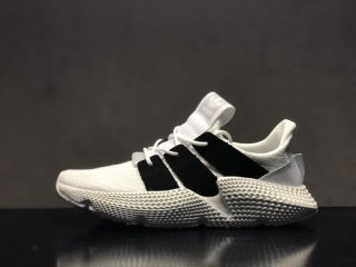 4c5cbc8328dcd4 Top Quality Men s Women s Adidas Prophere D96727 White Black Fashion  Running Shoes