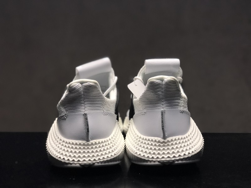 0af955c37a0f0d Top Quality Men s Women s Adidas Prophere D96727 White Black Fashion  Running Shoes