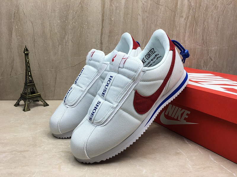 info for cceaa 9119f Cheap Price Nike Cortez Kenny Iv x Kendrick Lamar AV2950-001  White/Black-Red-Blue Sports Life Shoes