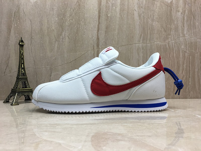 info for 444b1 36ecb Cheap Price Nike Cortez Kenny Iv x Kendrick Lamar AV2950-001  White/Black-Red-Blue Sports Life Shoes