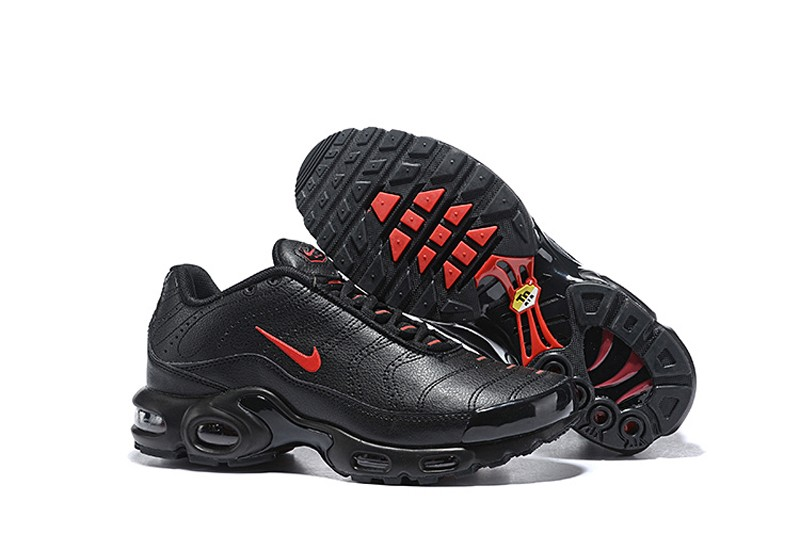 referir cirujano Detener  Nike Air Max Plus Premium 815994-102 Men's Black/Gym Red Sports Life  Classic Shoes Top Deals | Evesham-nj