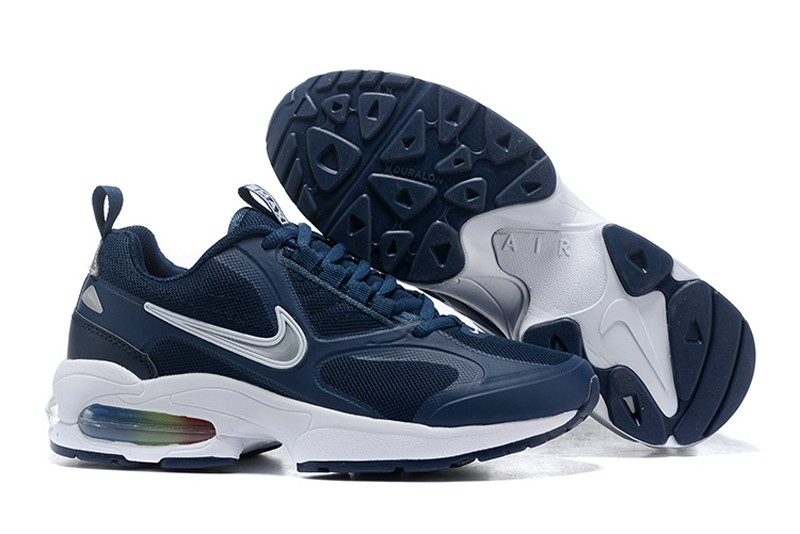 huge discount ef121 e96cc Nike Air Max2 Light Dark Blue White Men s Resistant Breathable Lightweight  Sneakers ...