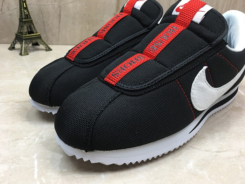 buy online 981b1 2827e Nike Cortez Kenny Iv x Kendrick Lamar Black/White-Red Sports Life Shoes In  Stock AV2950-008