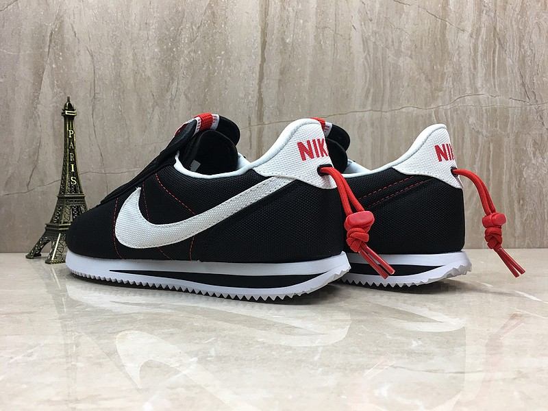 buy online eff23 dc3f2 Nike Cortez Kenny Iv x Kendrick Lamar Black/White-Red Sports Life Shoes In  Stock AV2950-008