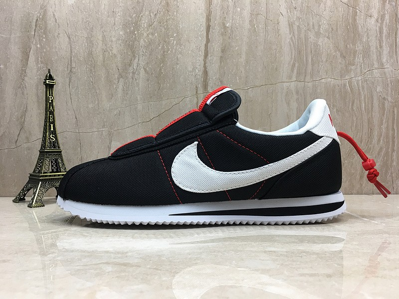 buy online 89f5d 6f124 Nike Cortez Kenny Iv x Kendrick Lamar Black/White-Red Sports Life Shoes In  Stock AV2950-008