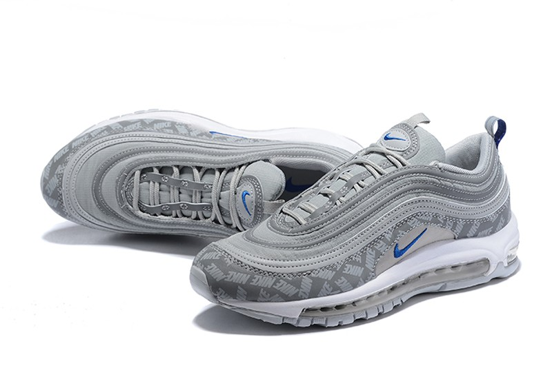 new concept e9561 2b99c Top Quality Nike Air Max 97 Men's Sports Life Classic Shoes BQ3165-001 Wolf  Grey/Game Royal