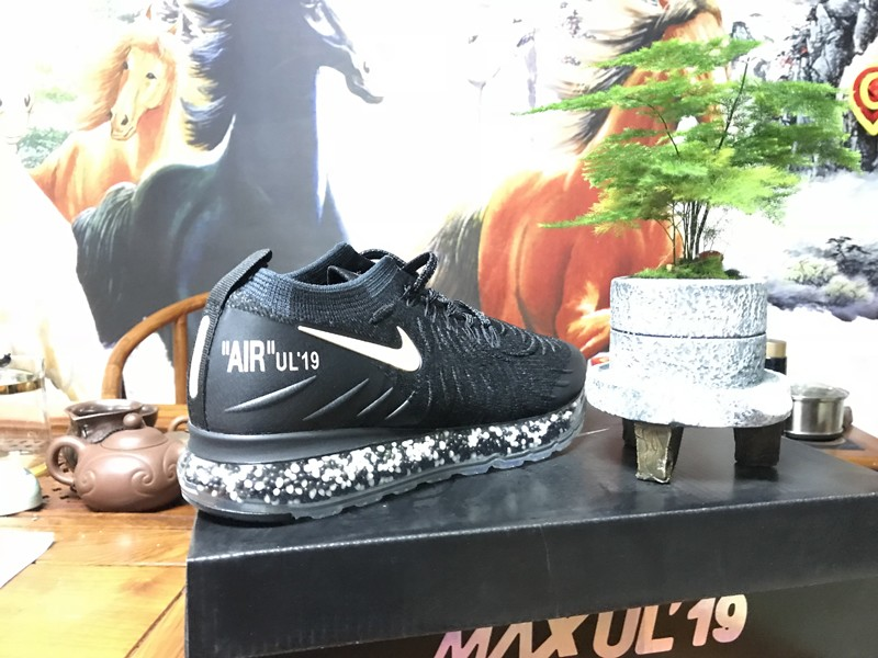 bbbdce4484d6 Top Quality Men s Nike Air Max UL 19 Amming Cushion Black Gold Outdoor Running  Shoes