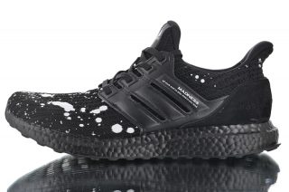 2019 New Arrival Madness x Adidas Ultra Boost 4.0 Black White Retro ... 94530e01c