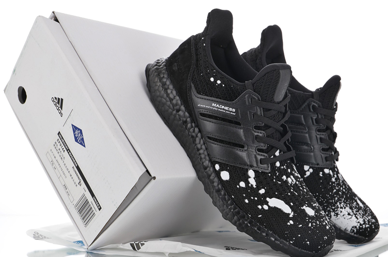 d226e4feedbab 2019 New Arrival Madness x Adidas Ultra Boost 4.0 Black White Retro ...