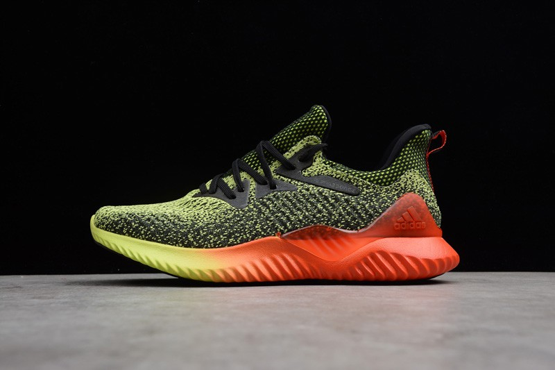 c9b718afd8608 2019 Adidas Alphabounce Beyond WC Yellow Solar Red-Black B27815 ...