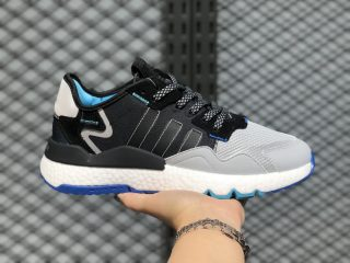 2020 Buy Adidas Nite Jogger Boost Core Black/Core Black-Metal Grey EF5408