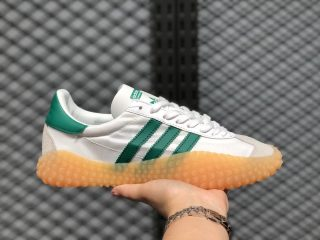 2020 Latest Style Adidas Kamanda Country Cloud White/Green-Grey G26797