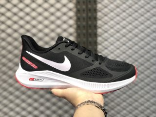 2020 New Arrival Nike Zoom Winflo 7X Core Black/Cloud White-Red CJ0291-400