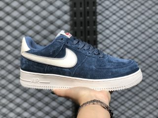 2020 Nike Air Force 1'07 Low Monsoon Blue/Sail AQ8741-401 For Buy
