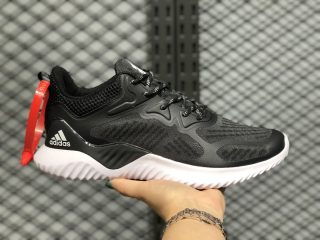 "Adidas AlphaBounce ""Forged Mesh"" Black/Cloud White B43681 In Stock"