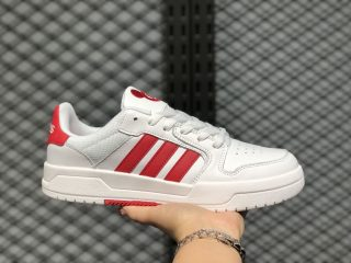 "Adidas Neo ""Entrap Disney"" Bright White/light Scarlet/Black FW7010"