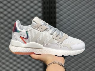 Adidas Nite Jogger 2020 Boost Cloud White/Rainbow FV4544 Super Deals