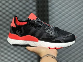 Adidas Nite Jogger 2020 Boost Core Black/Cloud White-Hi-Res Red EG6750