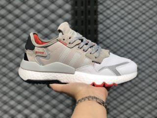Adidas Nite Jogger Boost Metal Grey/Metal Grey-Cloud White EF5408