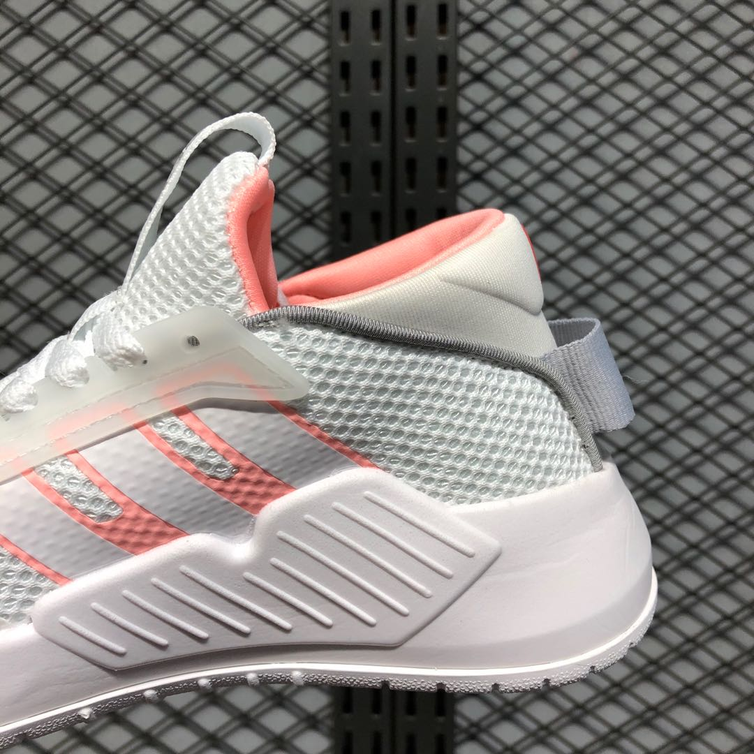 Adidas Wmns Neo PLAY9tis 2.0 Cloud White/Pink EF0636 Life Classic Shoes