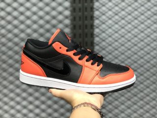 Air Jordan 1 Low CK3022-008 Core Black/Orange Athletic Sneakers For Buy
