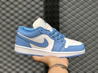 "Air Jordan 1 Low ""UNC"" University Blue/Cloud White On Sale AO9944-441"