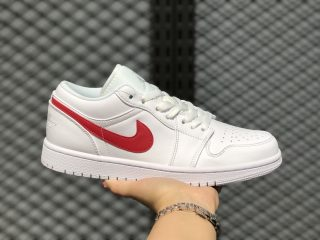 Buy Air Jordan 1 Low AO9944-161 White/University Red Life Casual Shoes