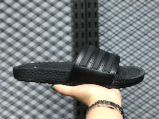 Adidas Adilette Boost Core Black/Core Black Slides Slippers S82137 On Sale