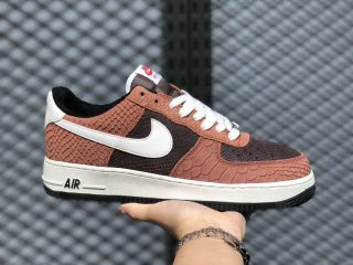Nike Air Force 1 Low PRM Red Bark/Sail-Earth-University Red CV5567-200