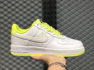 Nike Air Force 1 Low White/Paper Yellow 808128-616 Free Shipping