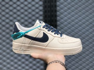 Nike Air Force 1'07 Low Beige/Deep Blue-Reflection 315122-109 In Stock