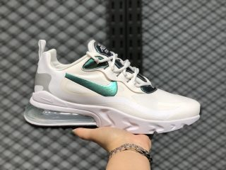 Nike Air Max 270 React Cloud White/Silver-Pine Green CZ7376-100 Online Sale