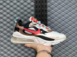 Nike Air Max 270 React Sail/Black-Metallic Red Bronze-Pure Platinum CT3428-100