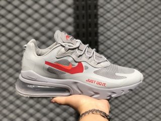 Nike Air Max 270 React Wolf Grey/Hyper Crimson-University Red CT2203-002