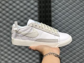 Nike Blazer Low leather White/Sail/Platinum Tint Hot Selling CW7585-100