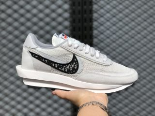 "Nike LDV Waffle Daybreak ""Grey/Black Oblique"" CN8898-002 Casual Jogging Shoes"