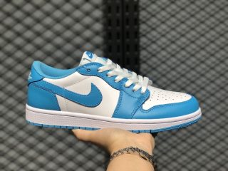Nike SB x Air Jordan 1 Low Dark Powder Blue/White In Stock CJ7891-401