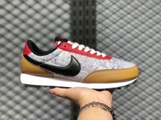 Nike Wmns Air Daybreak Gold Suede/Black-University Red-Sail CQ7619-700